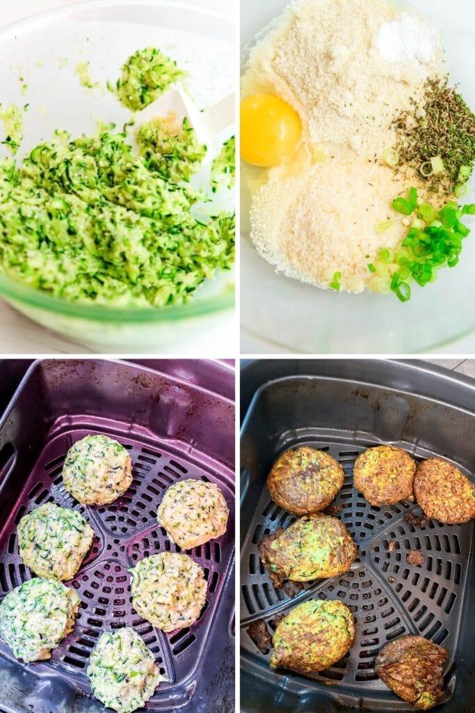 shredded zucchini fritters recipe