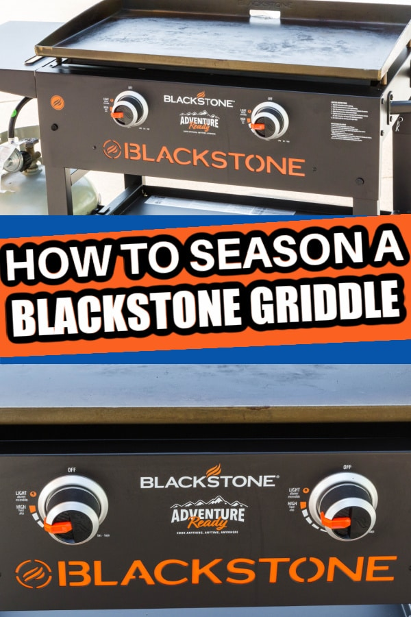 How to season blackstone griddle